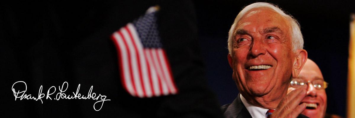 U.S. Senator Frank R. Lautenberg