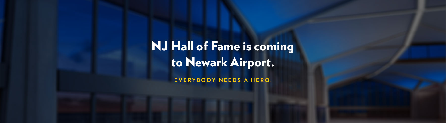 NJHOF Exhibit Opening at Newark Airport