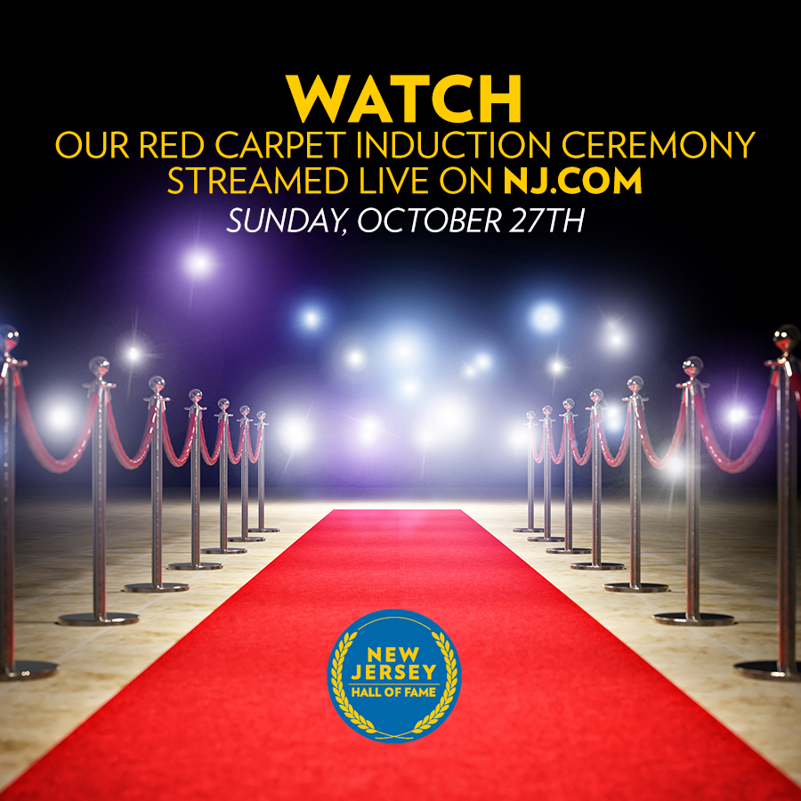 Watch the Red Carpet Induction Streamed live on NJ.com