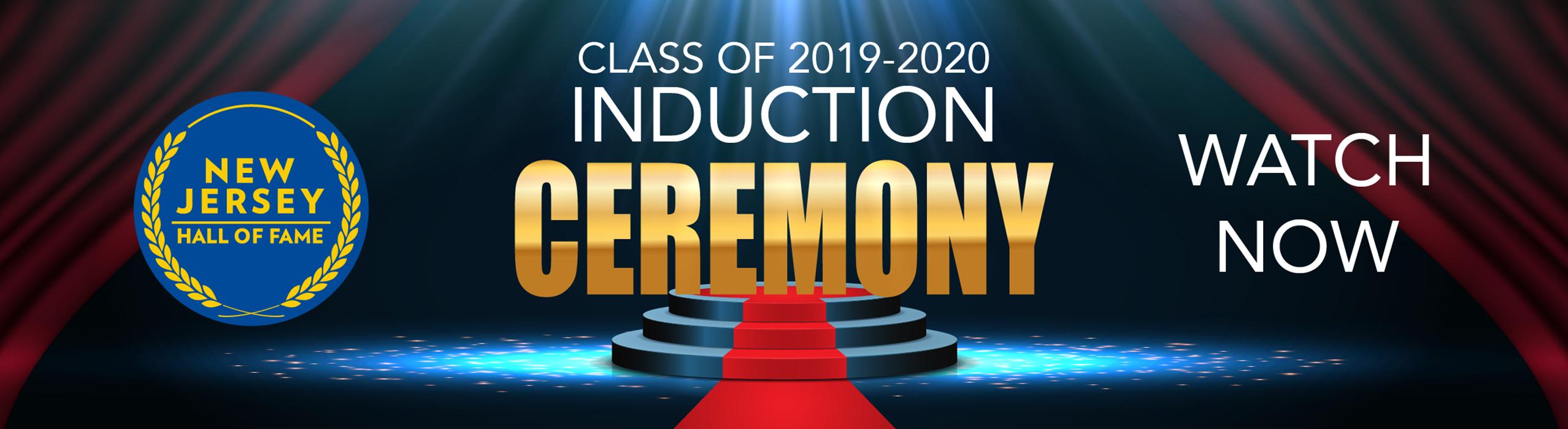 NJHOF 2019-2020 Induction ceremony